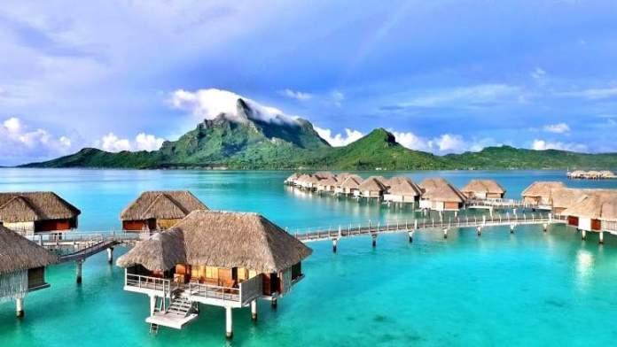 Four Seasons Resort é um dos lugares para se hospedar em Bora Bora