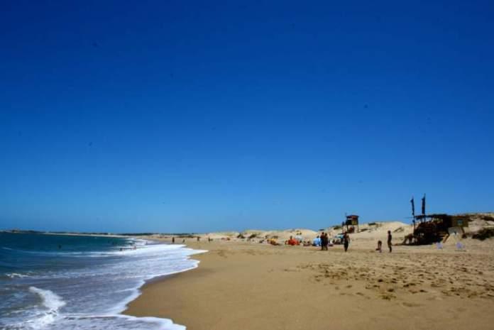 Playa de La Viuda é uma das melhores praias do Uruguai