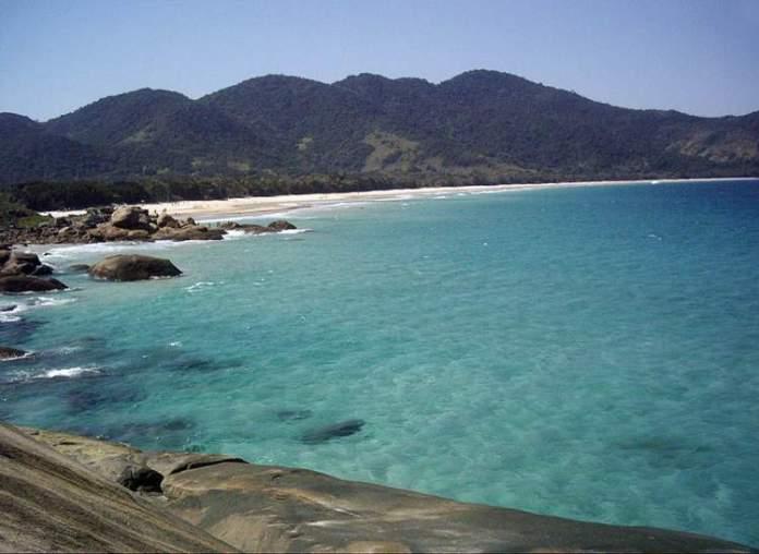 Praia Lopes Mendes é uma das melhores praias de Ilha Grande