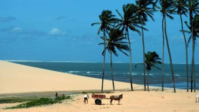 Praia Preá é uma das praias mais bonitas de Jericoacoara