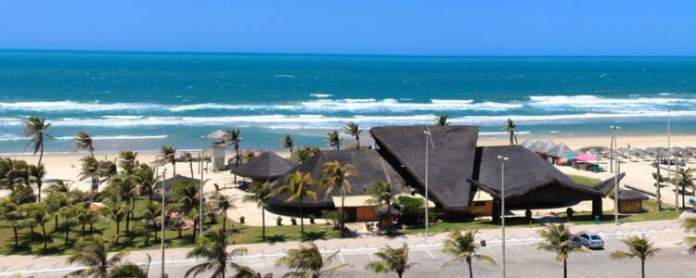 Praia do Futuro é um dos Lugares incríveis em Fortaleza