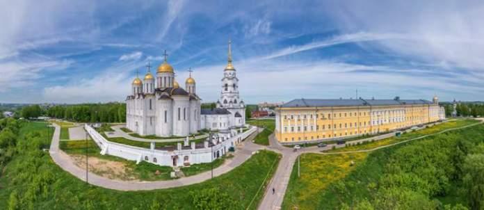 Vladimir é uma das cidades para visitar na Rússia