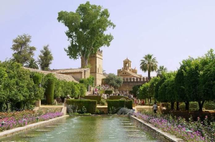 Alcázar De Los Reys em Córdoba na Espanha