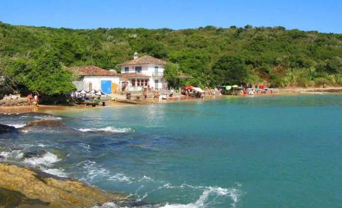 Azeda é uma das praias mais bonitas de Búzios