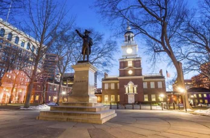 Filadélfia é um dos destinos nos Estados Unidos que mais recebem turistas