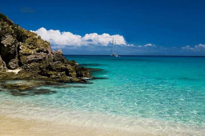 Gouverneur em St. Barth, é uma das praias mais paradisíacas do Caribe