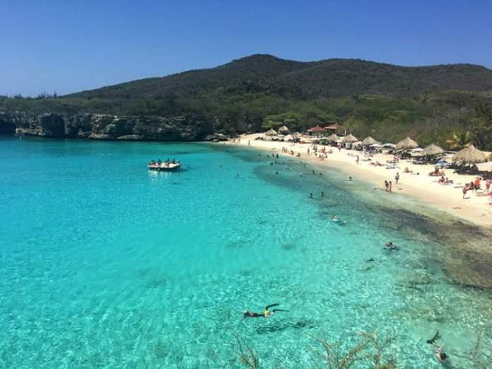 Ilha de Curaçao, é uma das praias mais paradisíacas do Caribe