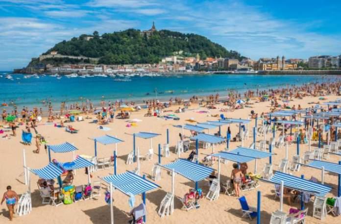 La Concha Beach é uma das melhores praias da Espanha