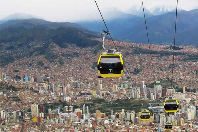 La Paz é um dos destinos para viajar em Julho 2018