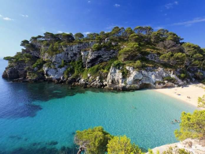Macarella é uma das melhores praias da Espanha