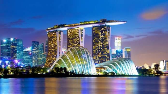 Marina Bay Sands é um dos pontos turísticos de Singapura