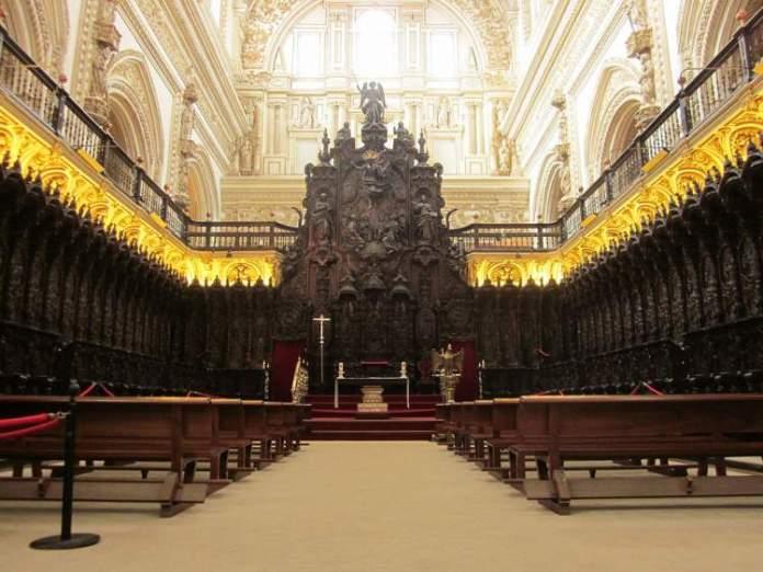 Mesquita Catedral em Córdoba na Espanha