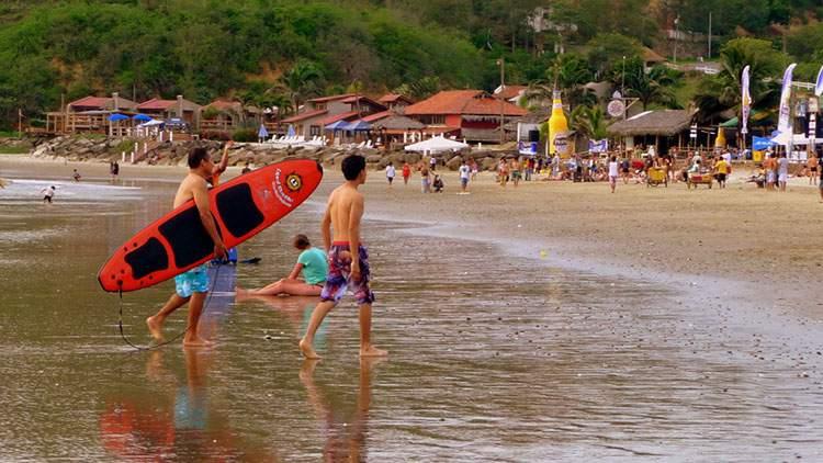 Montanhita é uma das praias mais bonitas do Equador