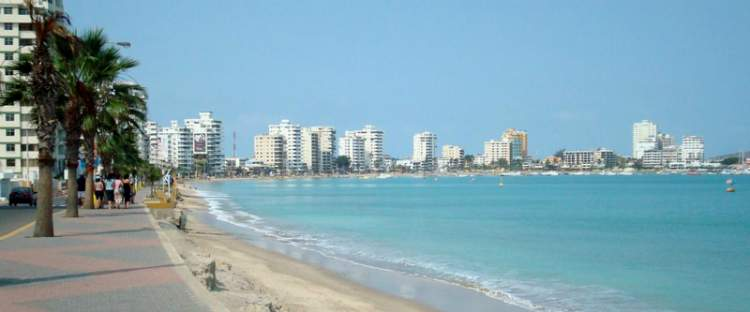 Salinas é uma das praias mais bonitas do Equador