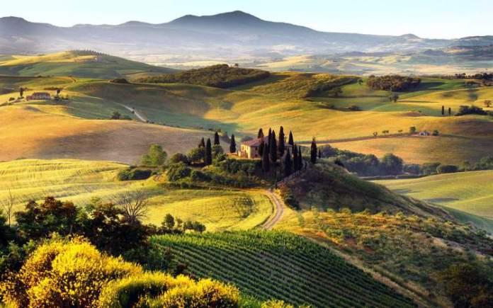 Toscana na Itália é um dos destinos mais baratos para viajar em Setembro 2018