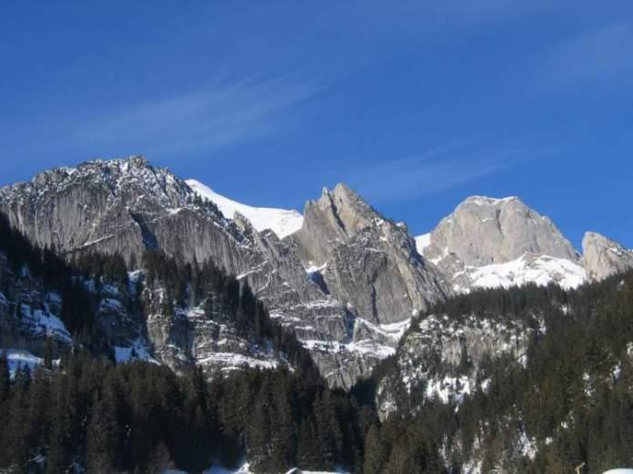 Wildhaus é um dos lugares maravilhosos na Suíça