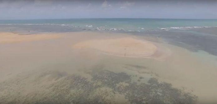 Areia Vermelha é uma das Melhores Praias da Paraíba [Foto: Acervo Pessoal]