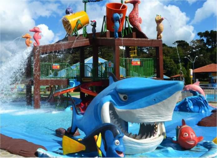 Araucária Acqua Park é um dos melhores parques aquáticos do Brasil