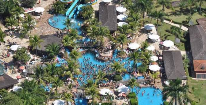 Lagoa Thermas Park é um dos melhores parques aquáticos do Brasil