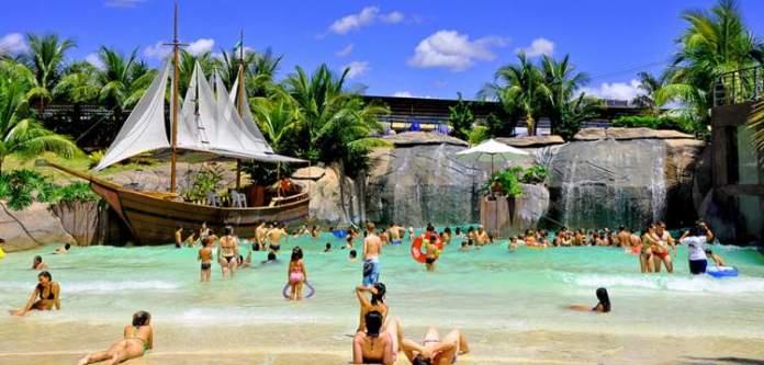 Náutico Praia Clube é um dos melhores parques aquáticos do Brasil