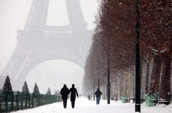 Paris é um dos lugares impressionantes que ficam ainda melhores no inverno