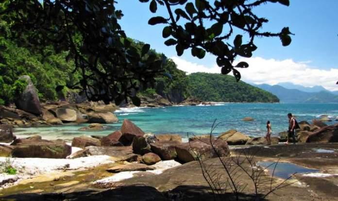 Praia das Conchas é uma das melhores praias de Ubatuba
