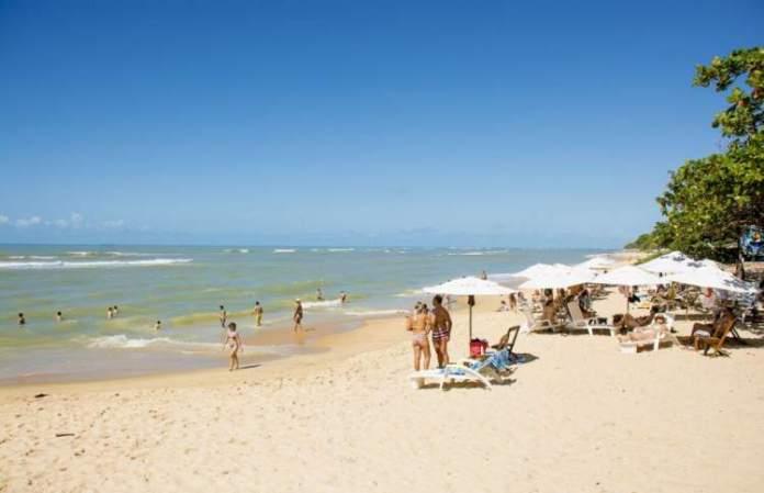 Praia ponta do Apaga Fogo é uma das melhores praias de Arraial D'Ajuda