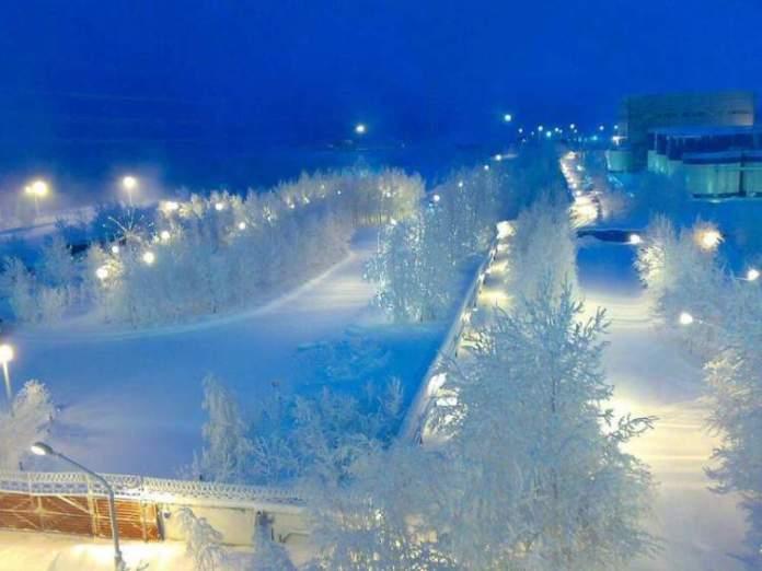 Surgut é um dos lugares impressionantes que ficam ainda melhores no inverno