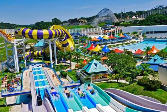 Wet'n Wild é um dos melhores parques aquáticos do Brasil