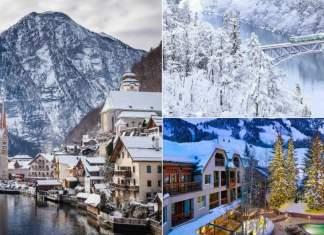 lugares impressionantes que ficam ainda melhores no inverno capa