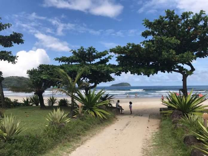 Baleia é uma das melhores praias de São Sebastião