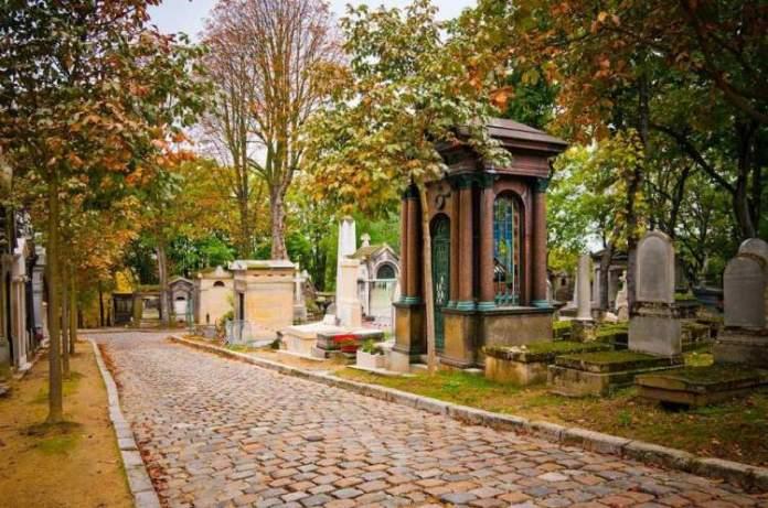 Cemitério Père Lachaise é uma das Atrações Gratuitas em Paris