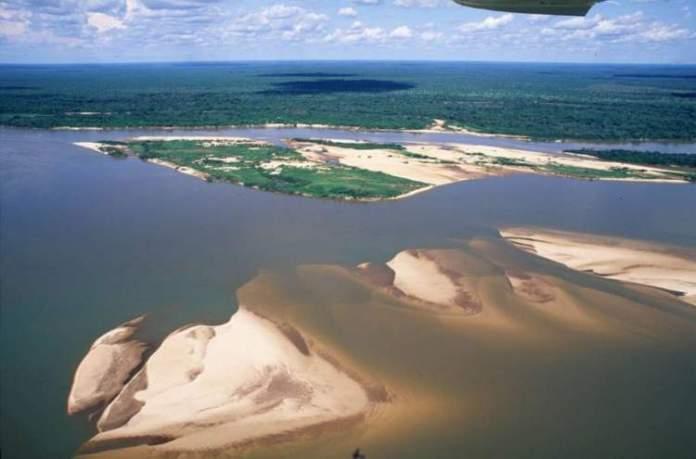 Ilha do Bananal é um dos lugares impressionantes no Tocantins