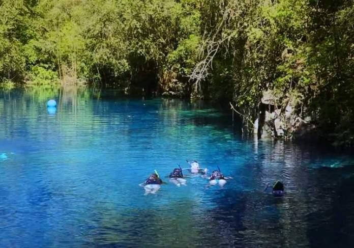 Lagoa Misteriosa em Mato Grosso do Sul