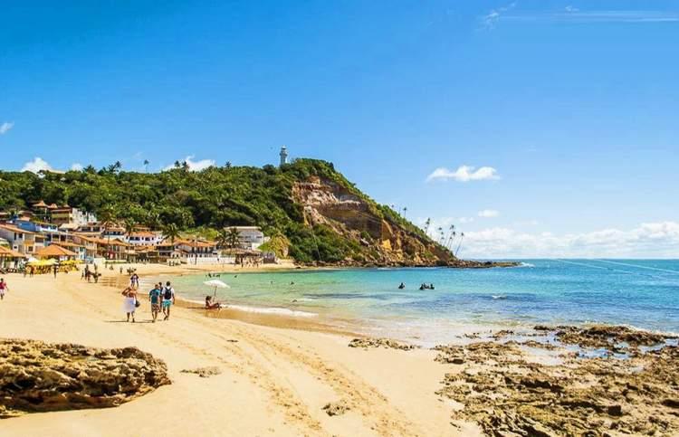 Melhores Praias de Morro de São Paulo: Primeira praia