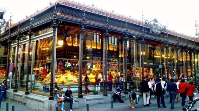 Mercado de San Miguel é uma das Atrações Gratuitas em Madri
