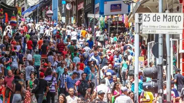 O que fazer em São Paulo: Visitar a Rua 25 de Março