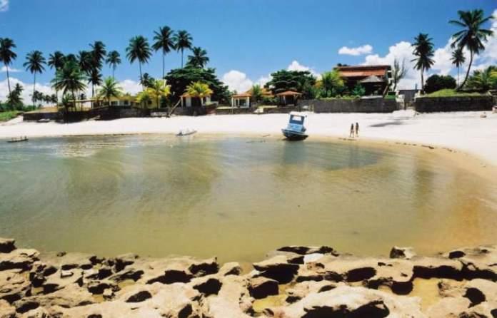 Praia das Cacimbas é uma das melhores Praias de Ipojuca