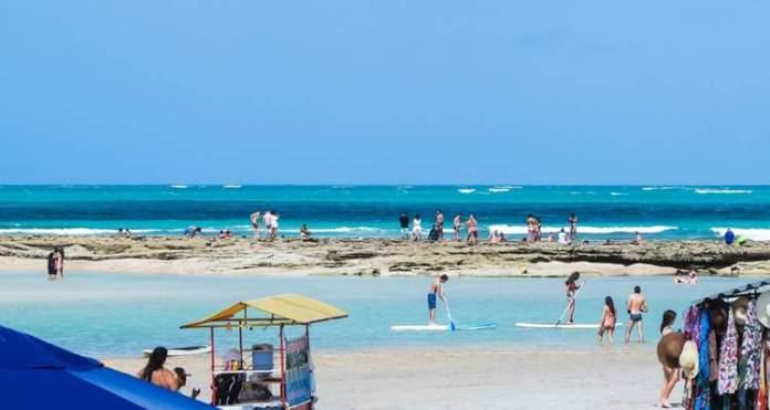 Praia dos Carneiros post