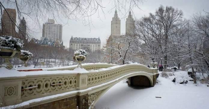 atrações no inverno de Nova York