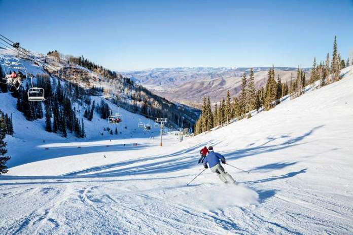 Aspen, Colorado nos Estados Unidos é um dos melhores destinos para esquiar