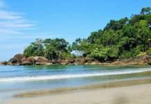 Praia do Felix em Ubatuba