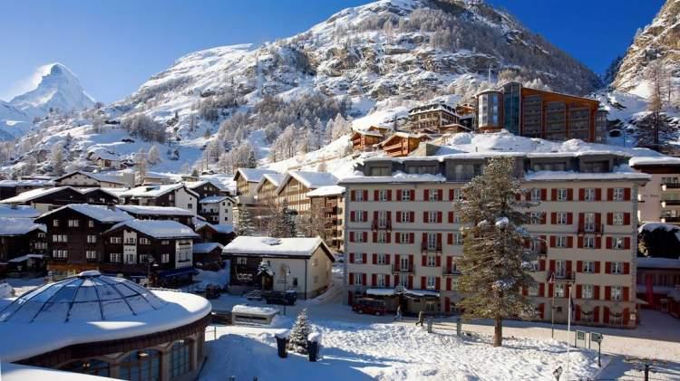 Verbier na Suíça é um dos melhores destinos para esquiar