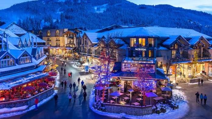 Whistler no Canadá é um dos melhores destinos para esquiar