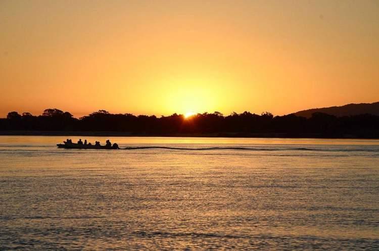 Aruanã Rio Araguaia é um dos lugares lindos em Goiás