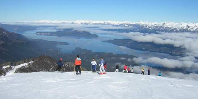 Cerro Bayo na Argentina é um dos destinos de esqui na América do Sul