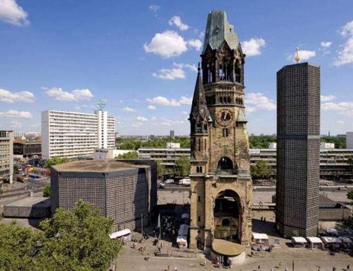 Kaiser-Wilhelm-Gedächtniskirche é uma das atrações gratuitas em Berlim