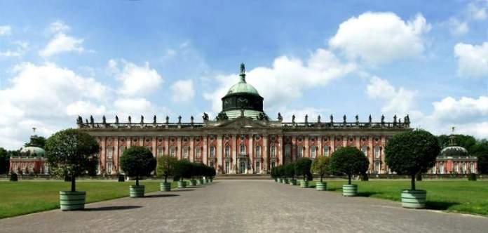 Palácio de Potsdam é uma das atrações gratuitas em Berlim