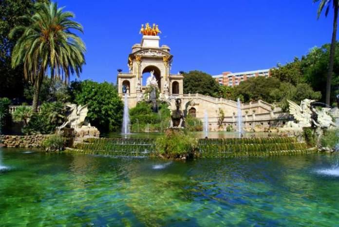 Parc de La Ciutadella é uma das atrações gratuitas em Barcelona