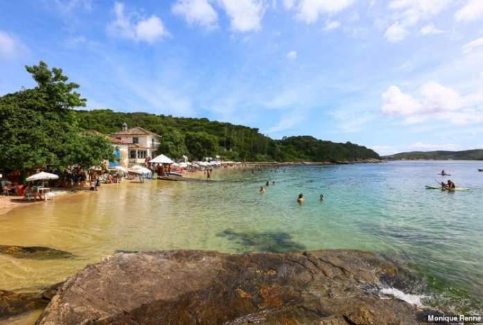 Praias Azeda e Azedinha é uma das melhores Praias da Região dos Lagos